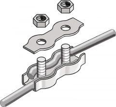 Koordverbinders RVS, tot 6mm (10 st)