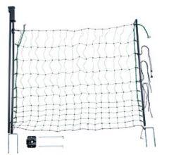Poort voor schrikdraadnet, met dubbele punt, 120 cm breed