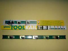 Toolrail Jimmy 75 cm met 5 toolclips
