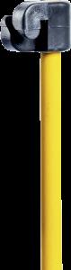 Kunststof isolator voor glasvezelpaal Ø 10 mm ( 10 stuks)