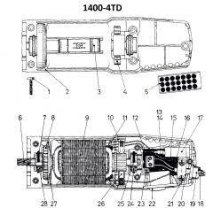 Veldwikkeling Liscop 1400
