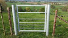 Landhek / weidepoort / schapenhek 1,2 mtr