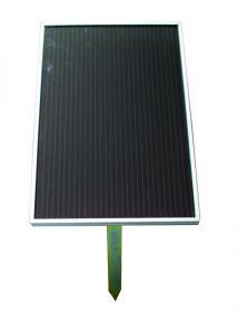 Zonnepaneel Amorph 5 Watt met houder