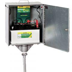 P2500 multifunctioneel apparaat 230V/12V met veiligheidsbox en aardpen