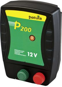 Patura P200, schrikdraadapparaat 12 V