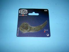 Ondermes 4/4 voor Felco 4 met klinknagels