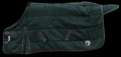 Excellent stal deken donker groen/grijs 175cm