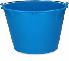 Emmer 7 l met beugel koningsblauw