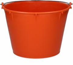 Emmer 7 l met beugel oranje