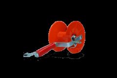 Haspel Mini met rem voor 250 m lint en 500 m draad