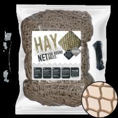 Hay Slowfeeder net speciaal voor ronde baal