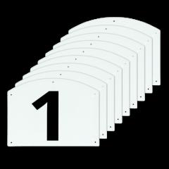 Show Jump cijfers 1 t/m 9 27x20cm