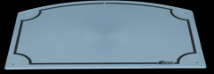 Stal schrijfbord 20x27 cm
