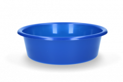 Voerbak 6 liter blauw