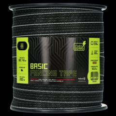 ZoneGuard Basic afrasteringslint zwart 200 m