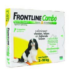 Frontline Combo hond S 2-10 kg 3 pipetten