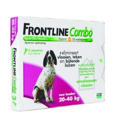 Frontline Combo hond L 20-40 kg 3 pipetten