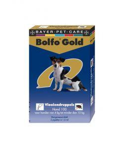 Bolfo Gold Hond 100 >4 kg