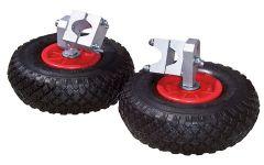 Anti-lek steunwielen voor kruiwagens (set 2 stuks)
