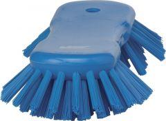 Handborstel Vikan extra hard 38923 blauw 25 cm