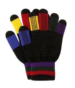Rijhandschoen grippy-stretch multicolor