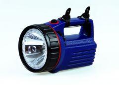 Handschijnwerper LED/halogeen incl. 6V accu en oplader
