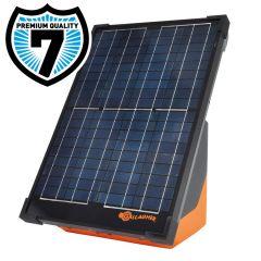 Gallagher S200 zonnepaneel schrikdraadapparaat incl. 2 batterijen, 12V/2,0J