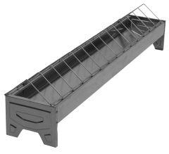 Voerbak pluimvee 75 cm verzinkt