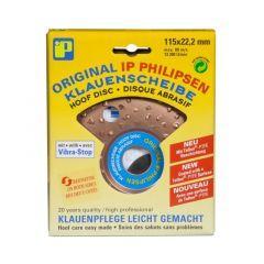 Hoefslijpschijf Philipsen 115 mm dubbel