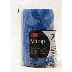 Klauwtape 3M Vetrap blauw 10 cm x 4,5m 100 rollen
