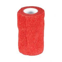 Klauwtape Hoof-fit rood 10 cm x 4,5m