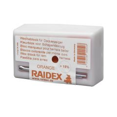 Kleurblok metaal Raidex oranje