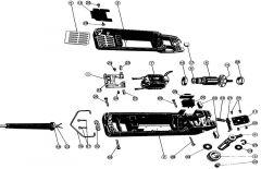 Rubber beschermkapje voor schakelaar GT104/249