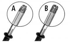 Branderkop 16-13mm voor Lister onthoornapparaat
