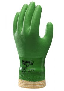 Handschoen SHOWA 600 PVC Green mt M