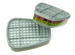 6075D A1 filter, organische dampen/formaldehyde