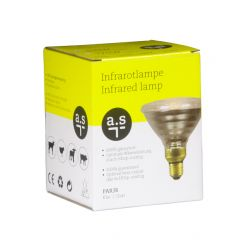 a.s IR Warmtelamp 175W wit PAR38