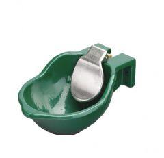 Drinkbak emaille SB8PK RV/P korte tong/kunststof ventiel
