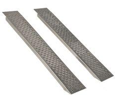 Rechte aluminium oprijplaten 200 cm - 400 kg