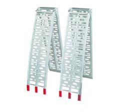Opvouwbare aluminium oprijplaten 225 cm - 600 kg