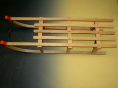 Slee type Davos van hout 100 cm