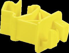 Standaard isolator voor T-palen,geel (25 stuks)