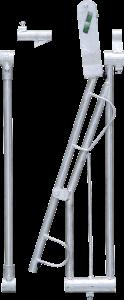 Voerplaats SV modulair kalverhek met vastzetbeugel,fixeeraanslag en tussenstang