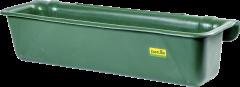 Lange kunststof voerbak, 42 liter