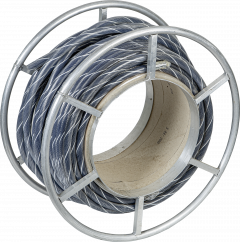 Flexibel halstouw, 70 meter