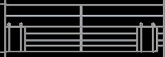 Steekfix hek XL met kruipgat voor lammeren 2,75 x 0,92 mtr