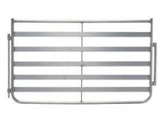 Aluminium schapenhek harmonica H = 0,85 m, L = 1,50 m