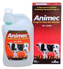 Animec 0,5% w/v pour on solution REG NL URA