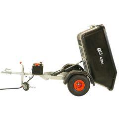 Hydraulische offroad quad kiepwagen PowerProfi, voor ATV en UTV