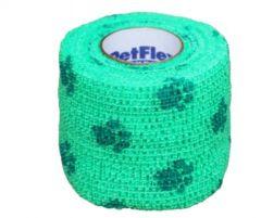 Bandage Petflex Neon Groen Pootm 5 cm